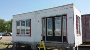 1700 sq ft complex with 9 foot plus ceilings hvac used as showroom exterior front section2- call 519-741-6317 to view