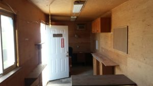 8x40 insulated shipping container office for sale call 1 519 741 6317 or visit www AffordableBuildings ca pic3