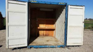8x40 insulated shipping container office for sale call 1 519 741 6317 or visit www AffordableBuildings ca pic5