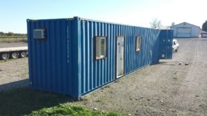 8x40 insulated shipping container office for sale call 1 519 741 6317 or visit www AffordableBuildings ca pic6