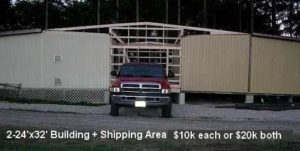 used-double-portable-building-with-shop-receiving-area-10000-each-building-or-20000-for-both-delivered-1-800-746-2236